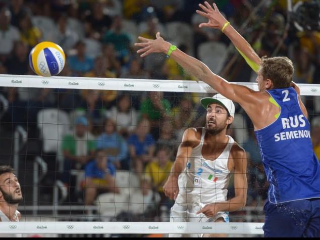 Beach volley uomini, Lupo-Nicolai prima volta Italia semifinale
