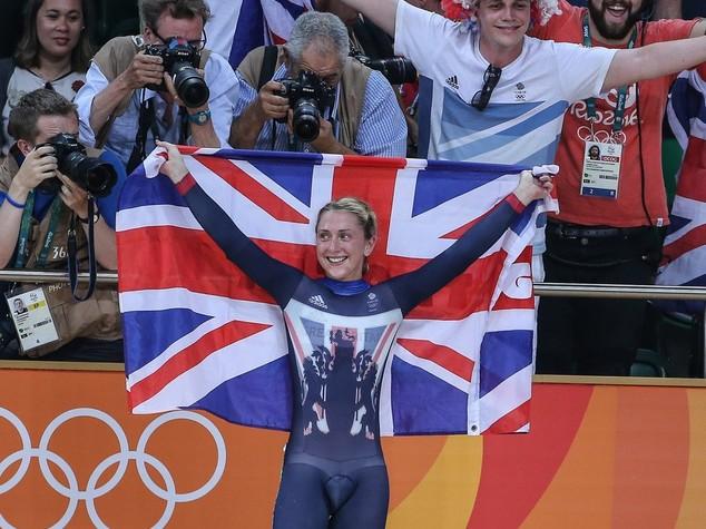 Ciclismo pista, oro alla britannica Trott nell'omnium