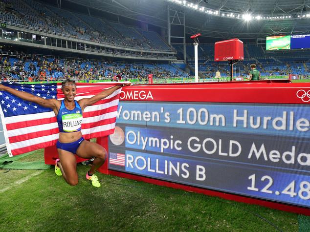 Atletica: 100 hs, podio tutto Usa oro alla Rollins