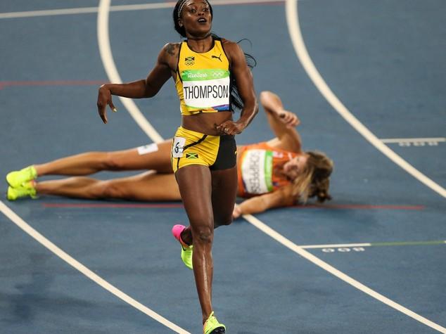 Atletica: 200 metri donne, oro alla giamaicana Thompson