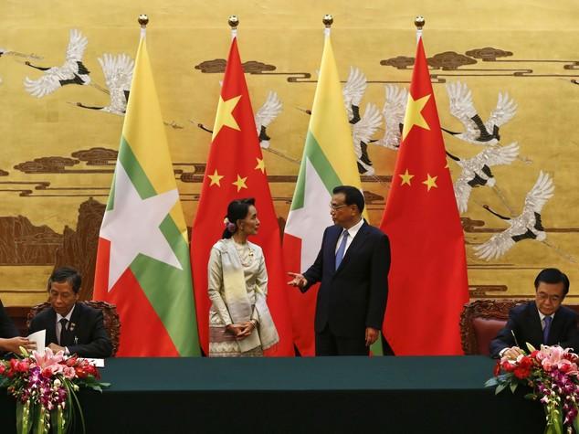 Myanmar: San Suu Kyi in visita in Cina, focus su diga Myitsone