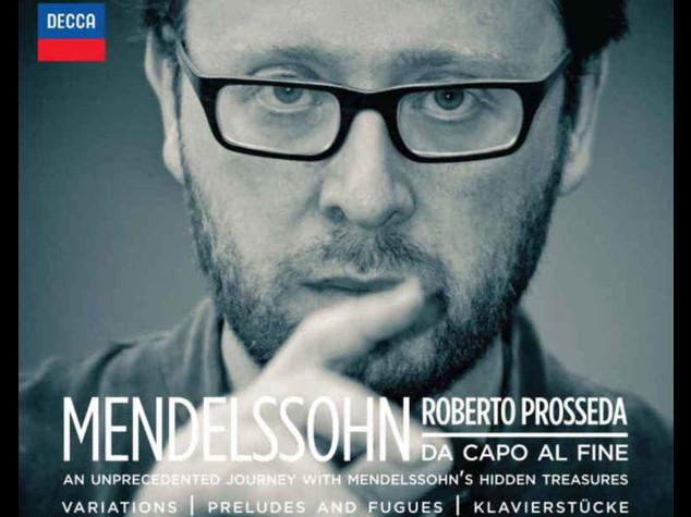 """Musica: Prosseda, """"Mendelssohn un grande accanto a Bach e Mozart"""""""