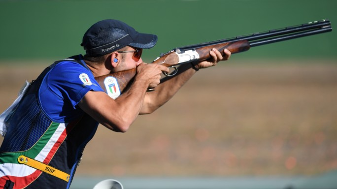 Tiro a volo premia atleti e industria armi italiana