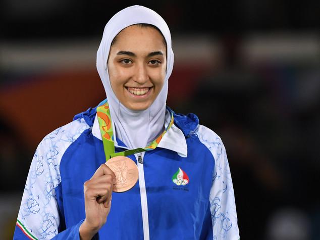 """""""Kimia"""", prima iraniana con una medaglia olimpica"""