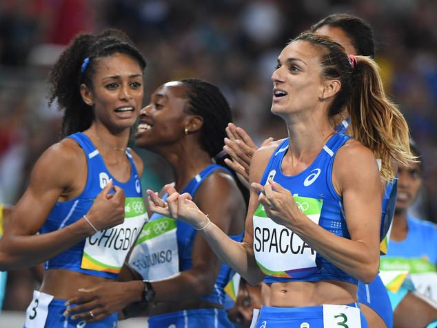 Seconda finale olimpica della storia 4x400 Italia donne