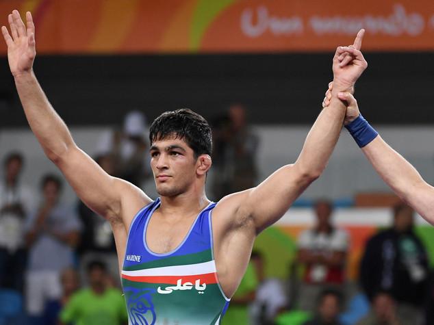 Lotta libera 74 kg, oro all'iraniano Yazdanicharati