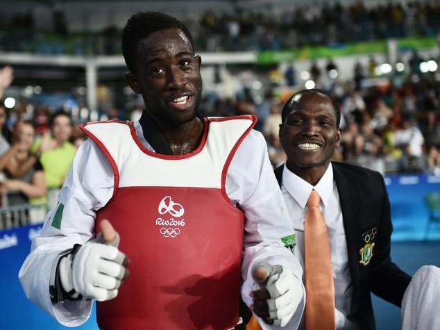 Taekwondo 80 kg, oro per l'ivoriano Cisse