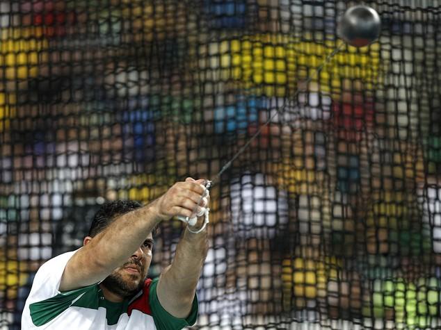 Atletica martello uomini, titolo al tagiko Nazarov