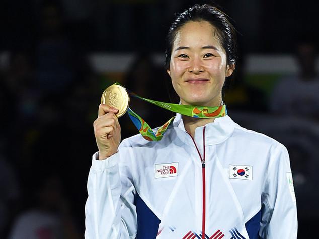 Taekwondo: 67 kg donne, oro a coreana Oh
