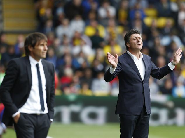 Conte vince il derby con Mazzarri