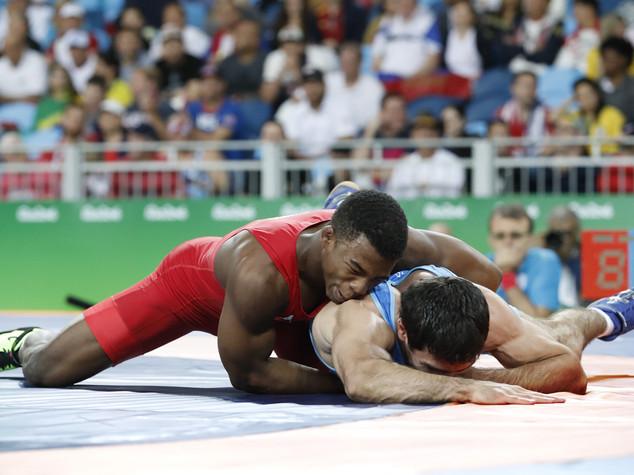 Lotta libera 65 kg, Chamizo vince il bronzo