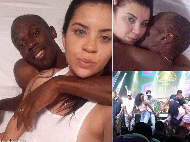 Balli e scappatella, festa hot di Bolt per ori e 30 anni