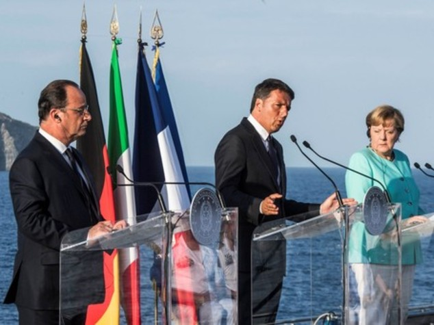 """Da Ventotene la nuova Ue. Renzi, """"non finisce con Brexit"""""""