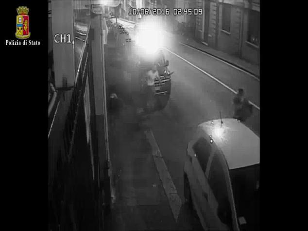 Sicurezza: Genova, operaio edile arrestato per tentato omicidio - VIDEO