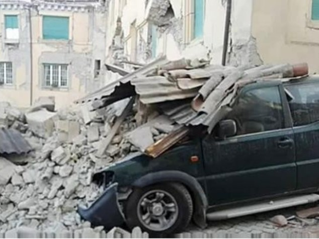 Terremoto, Giampedrone: