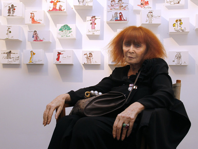 """Addio a Sonia Rykiel, regina del """"tricot"""""""