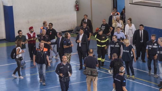 Ancora paura ad Amatrice, evacuato Palasport