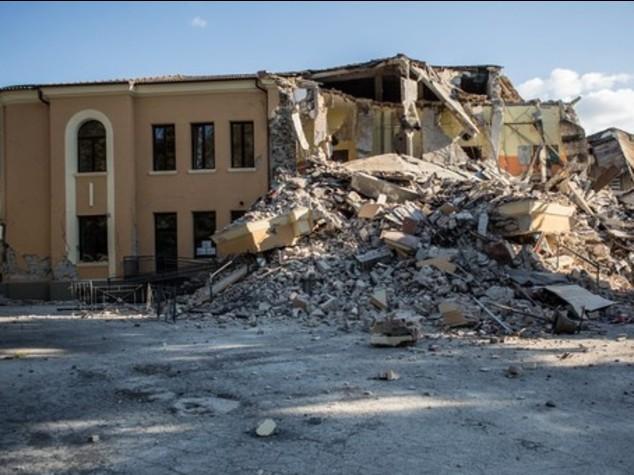 Amatrice: crolla anche la scuola anti sismica, nel 2012 realizzati i lavori