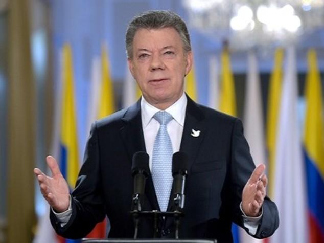 Colombia, Santos punta sul dialogo per salvare pace con Farc