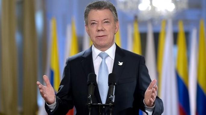 Nobel Pace al presidente colombiano Juan Manuel Santos