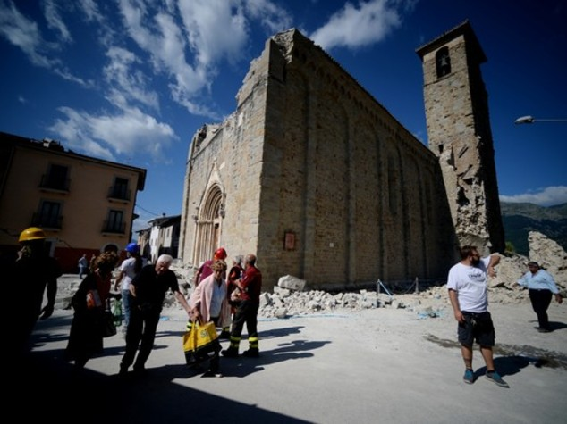 Italy earthquake damages 293 cultural heritage assets