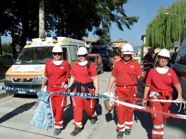 Terremoto: a Montereale servizio assistenza medica h 24