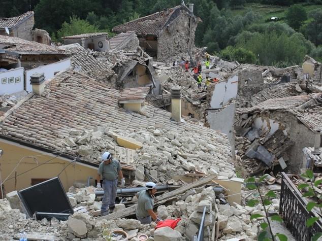 Terremoto, ad Amatrice danneggiate il 90% delle stalle