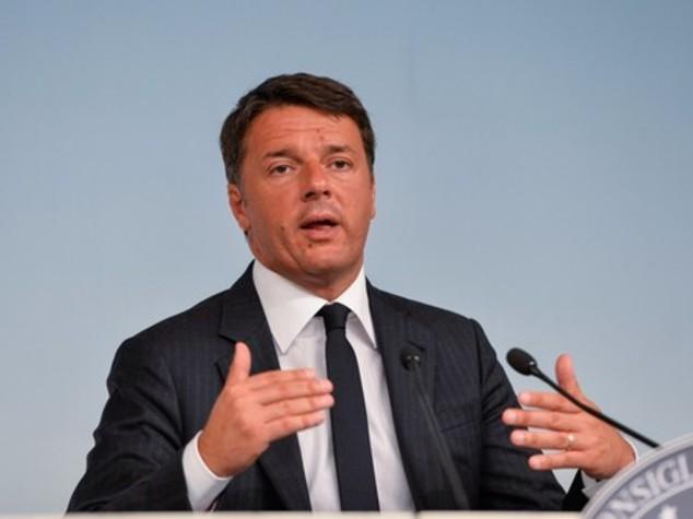 Renzi, finito il tempo dei tagli lineari nella sanità