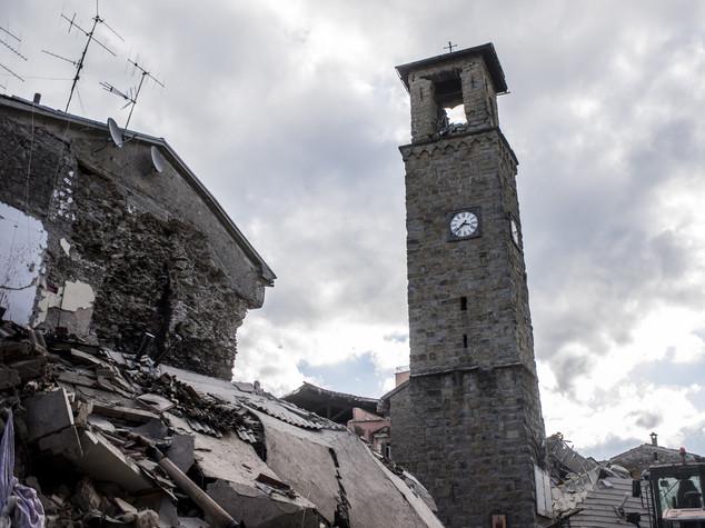 Mattarella visita Amatrice e Accumoli colpite dal terremoto