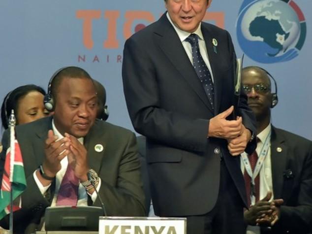 Kenya: Abe, Giappone investira' 30 mld dlr in Africa entro 2018