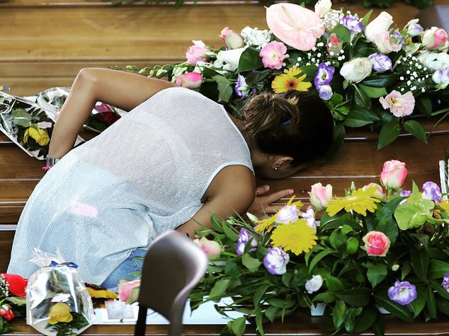 Domani i funerali a Rieti per le vittime laziali
