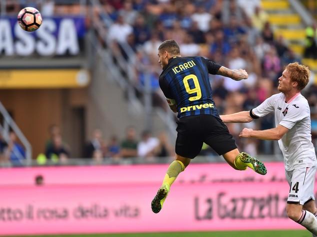 Inter-Palermo 1-1, Icardi risponde a Rispoli