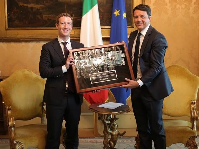 Ricerca: Zuckerberg a Renzi,ok lavoro su intelligenza artificiale