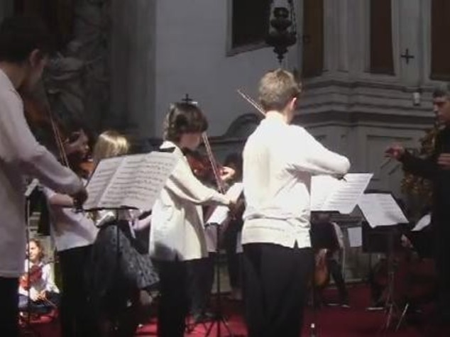 Varese's child orchestra UKOM to tour Russia