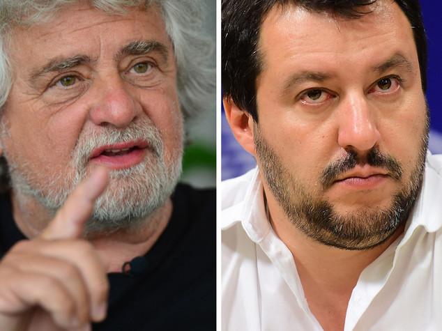 Grillo-Salvini rompono tregua politica post terremoto