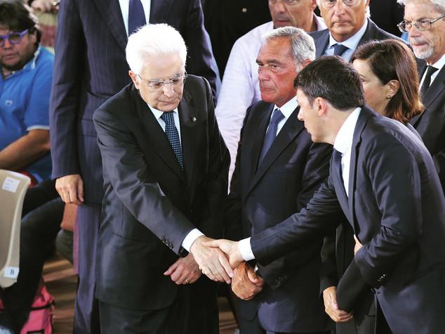 """Sisma, Mattarella e Renzi """"ci saremo anche spenti riflettori"""""""