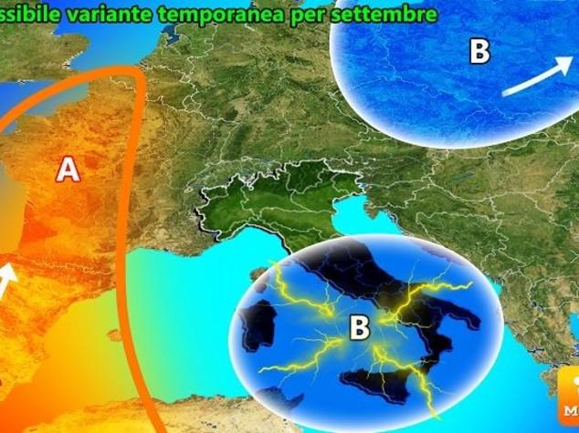 Vacanze di settembre, dal 10 rischio piogge