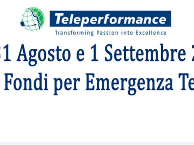 Terremoto: Taranto, Teleperformance avvia raccolta' solidarieta'
