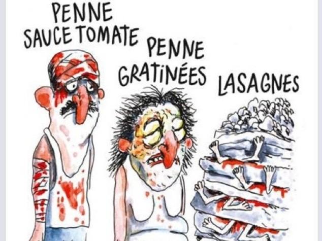 Politici italiani indignati per vignetta Charlie Hebdo
