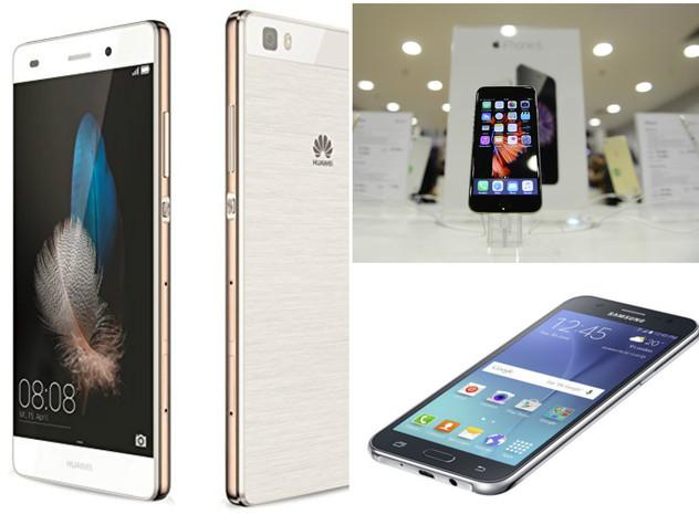Samsung e Apple guidano il mercato smartphone, ma Huawei cresce del 140%