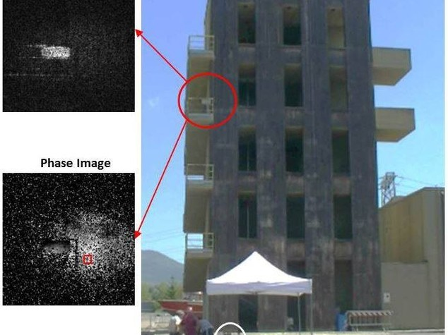 Terremoti: olografia digitale rileva risposta edifici a sismi