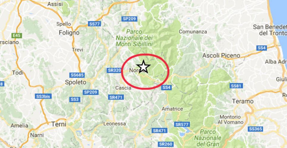 Terremoto Centro Italia, nuova scossa di magnitudo 3.2 vicino Arquata