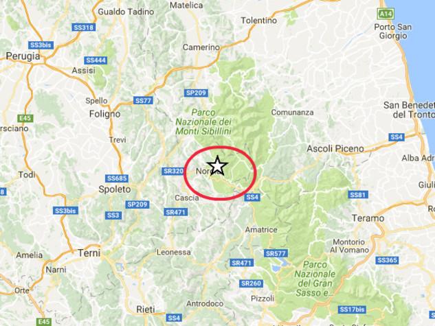 Scossa di magnitudo 4.3, paura nel Perugino