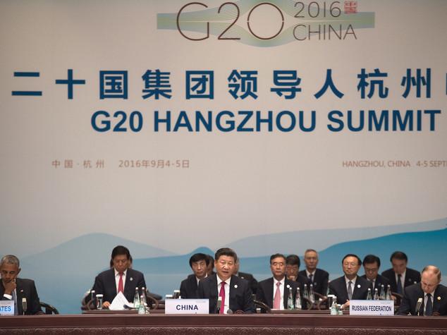 """Xi apre il G20, """"nuovo percorso di crescita"""""""