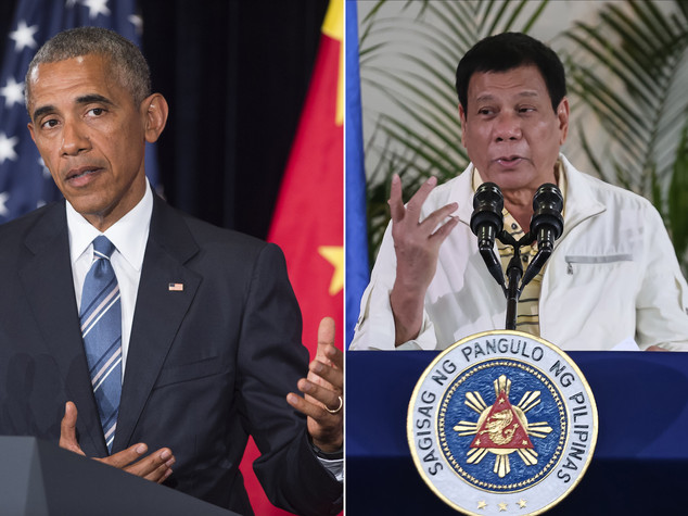 Duterte e' pentito, si scusa per insulti a Obama