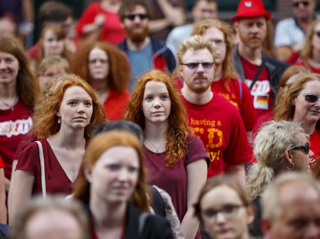 A Breda il raduno mondiale delle teste rosse