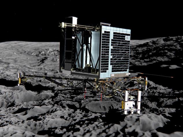 """Ritrovato Philae, il robot europeo """"smarrito"""" sulla cometa 67P"""