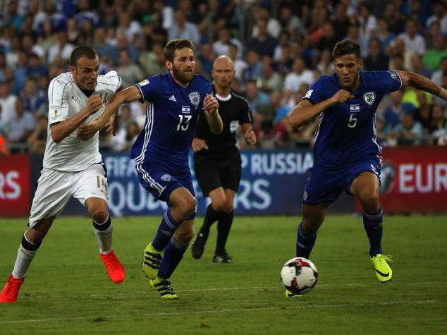Mondiali 2018, Italia soffre ma batte 3-1 Israele
