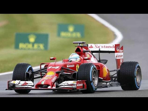 F. 1: Gp GB, sprofondo rosso. Ferrari in penultima fila