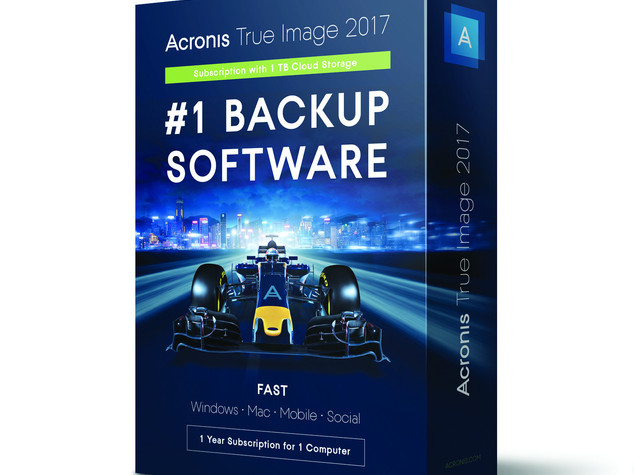 Acronis lancia la versione 2017 del backup True Image